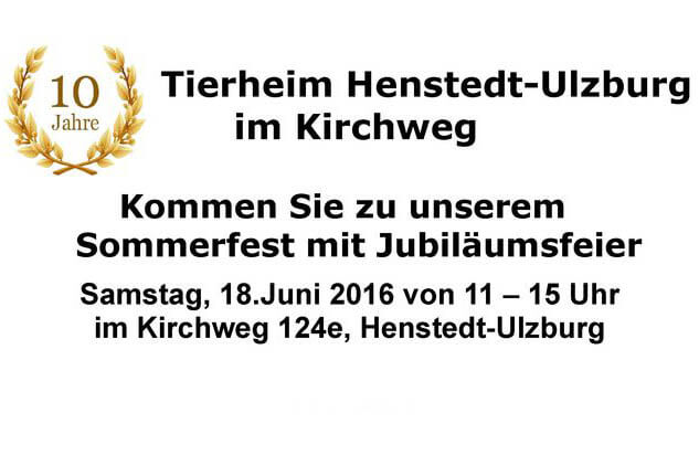 Sommerfest 18.06.2016 11-15Uhr