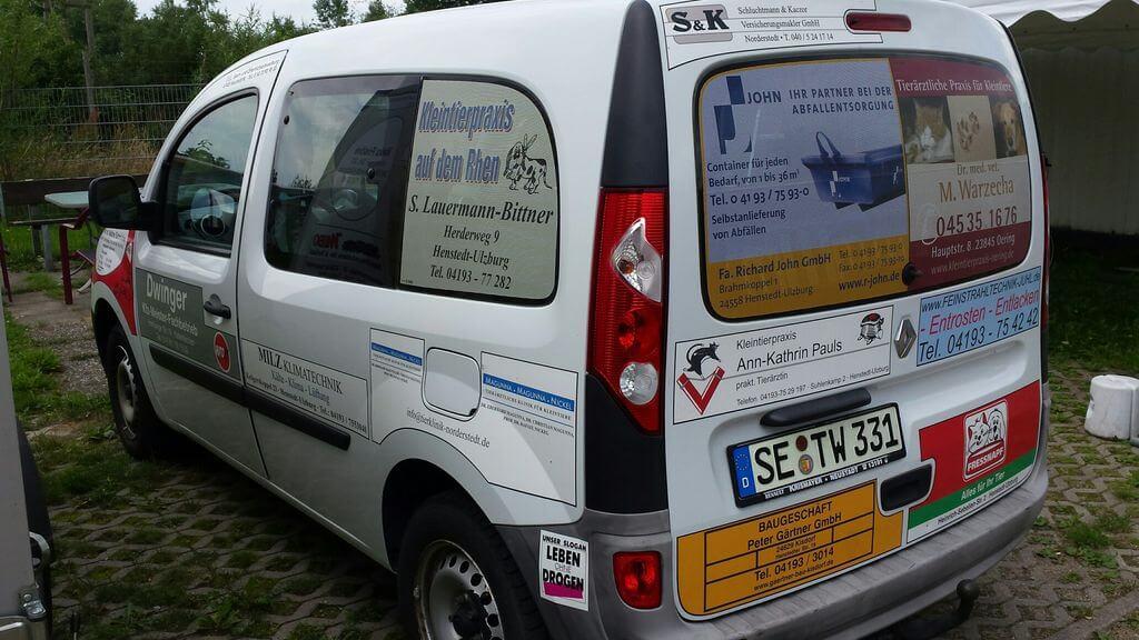 Unterstützung für ein neues Tierheimauto