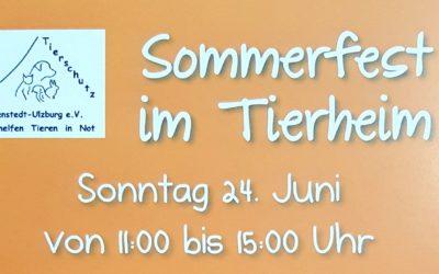 Sommerfest am 24. Juni