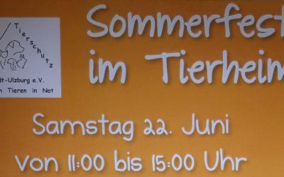 Sommerfest am Samstag 22. Juni von 11 bis 15 Uhr