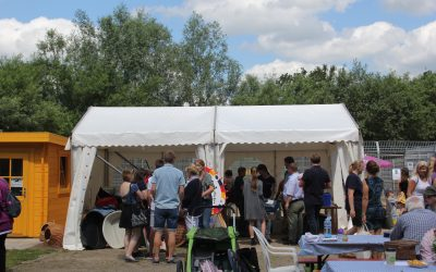 Keine Sommerfest ohne Zelt – Dank an Firma Zelte Sievers